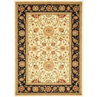 Safavieh Lyndhurst Traditional Ivory/Black Rug