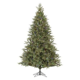 64 LED Pre Lit Elk Frasier Fir Christmas Tree   Multicolored