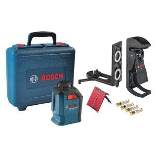 BOSCH Self Leveling Cross Line Laser Level   Rotary and Straight Line Laser Levels   38EW50|GLL 2 20