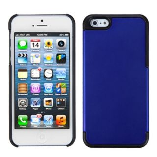 INSTEN Dark Blue/ Black MyDual Protector Phone Case for Apple iPhone 5