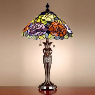 Dale Tiffany Floral Battersby Table Lamp