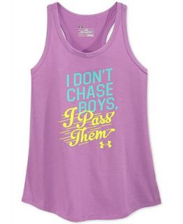 Under Armour Girls I Dont Chase Boys Tank   Shirts & Tees   Kids