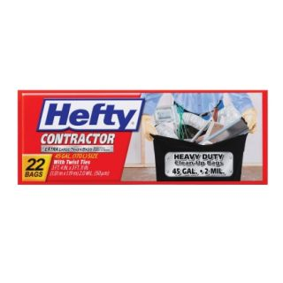 Hefty� 45 Gal Contractor Bags (E2 4524)   4 Pack   Trash Bags & Holders