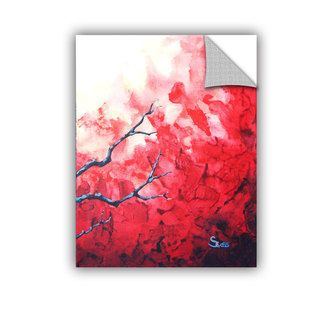 ArtAppealz Derek Mccrea Japanese Cherry Blossom Removable Wall Art