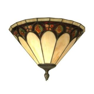 Dale Tiffany 1 Light Antique Bronze Crystal Jeweled Pebblestone Sconce TW11154
