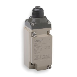 OMRON Heavy Duty Limit Switch, 600VAC Voltage Rating, 5 Amps, Top Actuator Location   Limit / Interlock Switches   2CLT1|D4A2509N