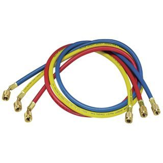 YELLOW JACKET Manifold Hose Set,60 In,Red,Yellow,Blue   Replacement Manifold Hoses and Hose Accessories   1WLH1|21985