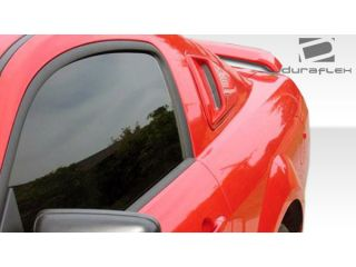 Duraflex FRP  Ford Mustang  Racer Window Scoop Louvers   2 Piece > 2005 2009