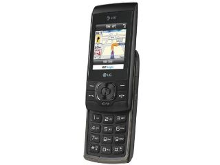 LG GU295 100 MB Black Slider Push To Talk GPS Camera Bluetooth Unlocked GSM Cell Phone 2.0""