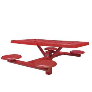 Ultra Play Canteen Inground Mount Commercial Picnic Table 504S P