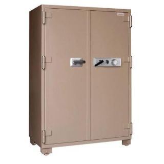 MESA 20.7 cu. ft. Fire Resistant Combination Lock 2 Hour Fire Safe with Double Doors MFS170DDCCSD