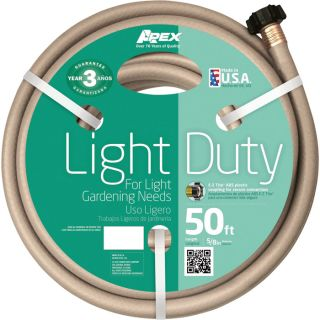 Teknor Apex Light-Duty Hose — 5/8in. x 50ft., Model# 8400-50  Garden, Sprinkler   Soaker Hoses