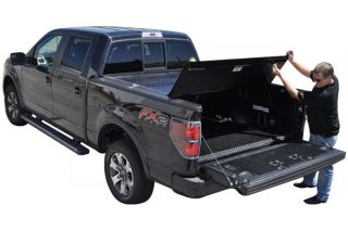 2009 2016 Dodge Ram Folding Tonneau Covers   BAK 126207RB   BAK BAKFlip FiberMax Tonneau Cover