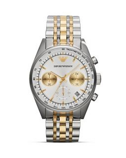 Emporio Armani Tazio Stainless Steel Watch, 43mm