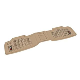 Rugged Ridge Floor Liner Rear 1 Piece Tan 2011 2014 Jeep Gr and Cherokee WK 13950.15
