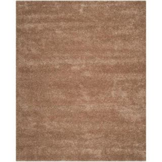 Safavieh Milan Shag Dark Beige 8 ft. 6 in. x 12 ft. Area Rug SG180 1414 9