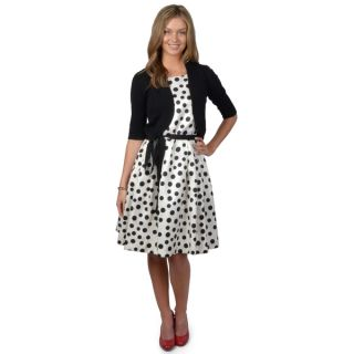 Jessica Howard Womens 2 piece Polka dot Dress   Shopping