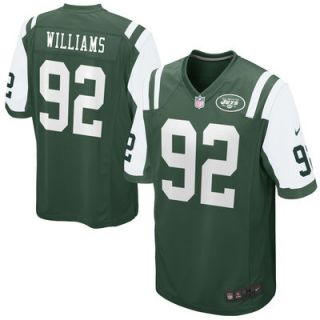 Leonard Williams Mens Nike Green New York Jets Game Jersey