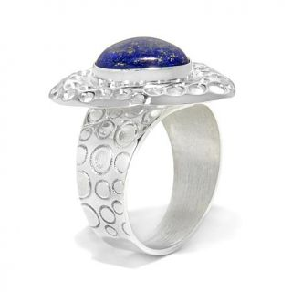 Jay King Lapis Sterling Silver Pear Shaped Ring   7634141