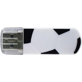 Verbatim Corporation Verbatim 8GB Mini USB Flash Drive, Sports Edition