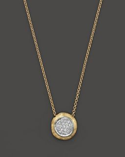 Marco Bicego 18K Yellow Gold Delicati Pendant Necklace with Diamonds, 16.5""