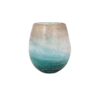 Luna Blue Frosted Short Vase   17638412   Shopping