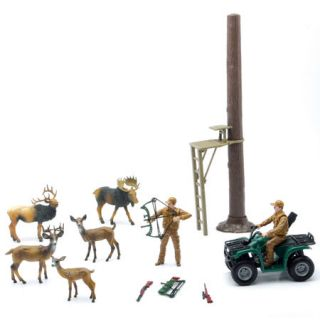 New Ray Toys Big Game Treestand Playset
