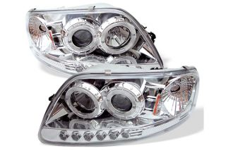 Spyder Headlights Spyder Projector & Crystal Halo Headlights
