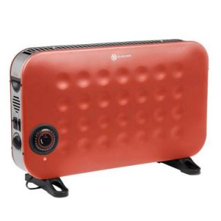 Crane 1500 Watt Convection Portable Heater with Timer and Fan   Red EE 8068 R