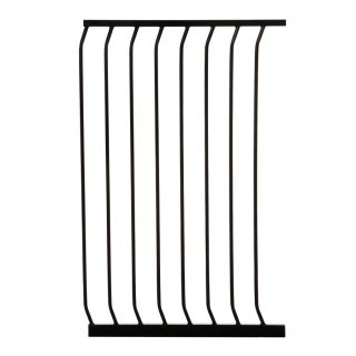 Dreambaby Chelsea Tall Auto Close 24.5 in x 39.5 in Black Metal Child Safety Gate