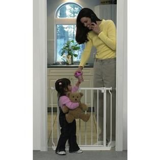 Summer Infant Secure Extra Tall Walk Thru Gate   Baby   Baby Health