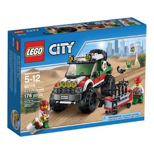 LEGO City 4X4 Off Roader 60115   Toys & Games   Blocks & Building Sets