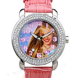 Disney Rhinestone Hannah Montana Girls Watch   11408215