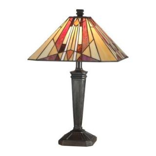 Radionic Hi Tech Tentelle 22.00 in. Bronze Hand Rolled Art Glass Table Lamp DT_TL_TT10823_RHT