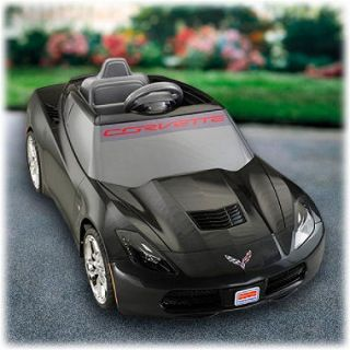 12v Power Wheels Black Corvette, Original Price $198.98
