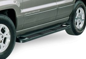 1999 2004 Jeep Grand Cherokee Running Boards   Westin 27 6125/27 1075   Westin Sure Grip Aluminum Running Boards