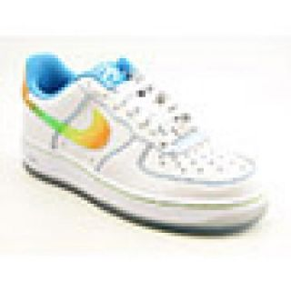Nike Youth Kids Boyss Air Force 1 Le White Athletic (Size 5.5)