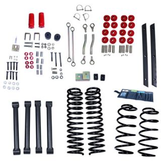 2004, 2005, 2006 Jeep Wrangler Lift Kits   ORV 18401.42   ORV Complete Jeep Lift Kits