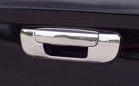 2002 2008 Dodge Ram Chrome Tailgate Handles   Putco 402134   Putco Chrome Tailgate Handle Cover