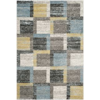 Safavieh Tahoe Grey/ Light Blue Rug (4 x 6)   16688121
