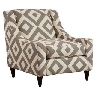 Janey Contemporary Style Chair Diamond Pattern   Furniture of America