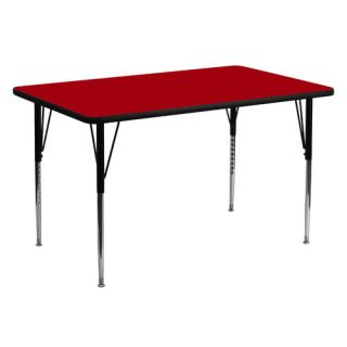 60 x 30 Rectangular Classroom Table by Flash Furniture