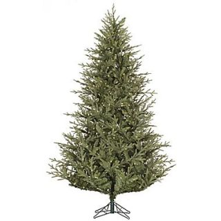 Vickerman Sutter Creek 6.5 Green Fir Artificial Christmas Tree with 450 LED White Lights