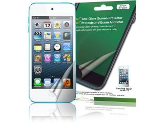 Green Onions Supply AG+ Anti Glare Screen Protector for iPod touch, 5th Generation (2 Pack)