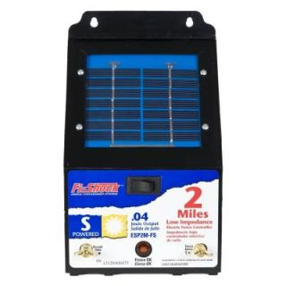 Fi Shock 2 Mile Solar Powered Electric Fence Energizer ESP2M FS