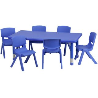Flash Furniture 48 x 24 Rectangular Classroom Table