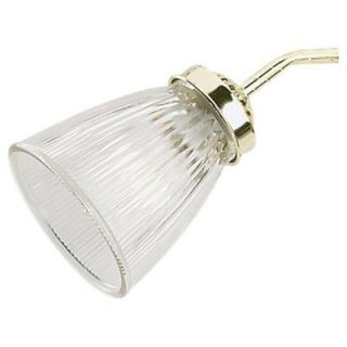 Sea Gull Lighting Ceiling Fan Glass Collection Clear Ribbed Glass Shade 1676 32