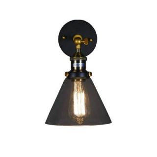 Edison Shandie Collection 3 Light Antique Bronze Indoor Geometric Chandelier LD4010
