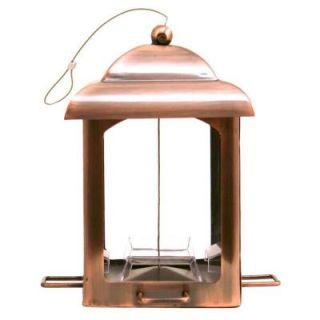 Perky Pet Antique Copper Chalet Bird Feeder 365