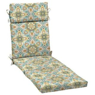 Hampton Bay Montigo Outdoor Chaise Lounge Cushion JE15853B D9D1